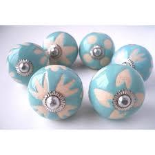 boutons de meubles de cuisine lot de 6 boutons de meubles porcelaine achat vente poignée
