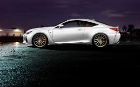 lexus sports car white wallpaper lexus rc f white profile tuning wheels car hd picture