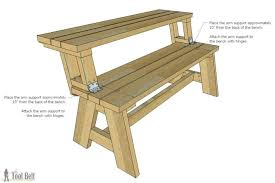 folding picnic table bench plans pdf convertible picnic table and bench ciscoskys info
