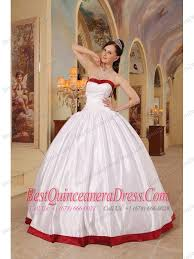quinceanera dresses white gown sweetheart floor length satin quinceanera dress