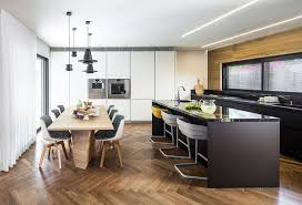 kitchen island options stylish seating options for modern kitchen islands