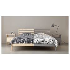Metal Bed Frame Cover Bedroom Tarva Bed Frame Lurc3b6y Ikea Along With Bedroom