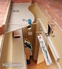 fluorescent closet light fixtures family handyman
