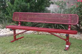 rectangular bench with back mytcoatmytcoat