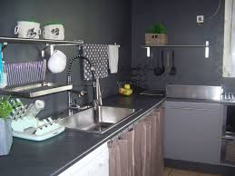 cuisine gris noir cuisine evier noir ohhkitchen com
