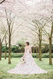 cherry blossom wedding cherry blossom garden wedding ideas ruffled