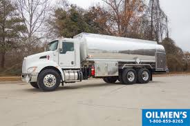 automatic kenworth trucks for sale fuel trucks recently delivered by oilmens truck tanks