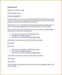Sample Academic Resume by 6 Reminder Email Sample Academic Resume Template