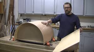 How To Make Kitchen Cabinet Doors How To Make A Curved Cabinet Door Youtube
