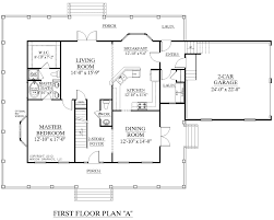 one story bedroom bath french country style house floor plans the