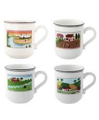 boch design naif mug set of 4