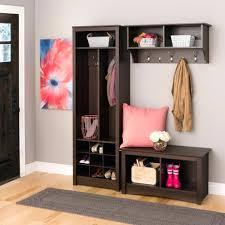 Entryway Shelf Shoe Storage Bench Seat Organizer Entryway Wood Furniture Shelf