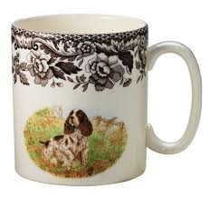 dining spode woodland mugs with animal picture and spode woodland
