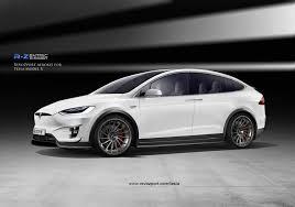 Tesla Minivan Revozport Gives Tesla Model X An Attitude Adjustment