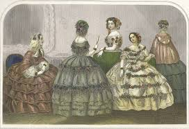 godey s fashions godey s fashion plate for 1858 america s era in the