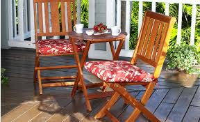 narrow wooden chair patio patio furniture small space modern outdoor