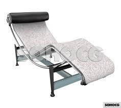 lc4 villa church le corbusier chaise longue 3d model sohocg