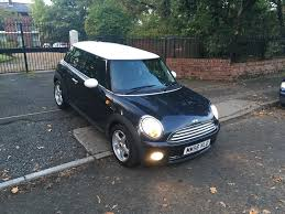 2007 mini cooper 1 6 chilli pack petrol hatchback manual 12mot