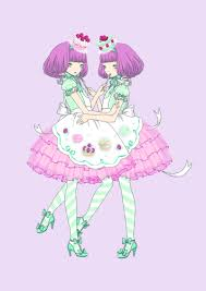 creepy kawaii background sweet fashion illustration by imai kira 1 artists that