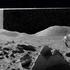 nasa broadcast a building on the moon alternate memories