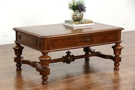 furniture round coffee table ottoman victorian medium creative