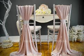 blush chair sashes blush pink chair sash on
