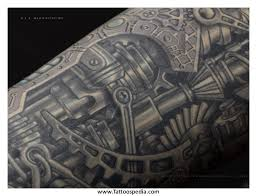 biomechanical tattoo for knee biomechanical knee tattoos 3