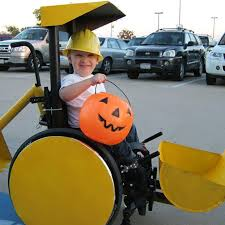 parents make wheelchair halloween costumes popsugar moms