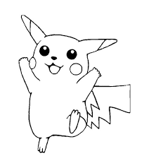 coloring pages pikachu coloring