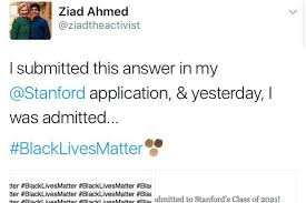 stanford essay samples 100 essay ziad ahmed wrote blacklivesmatter times on his college ziad ahmed wrote blacklivesmatter times on his college essay ziad ahmed wrote blacklivesmatter 100 times on
