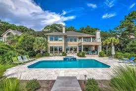 hilton head oceanfront homes