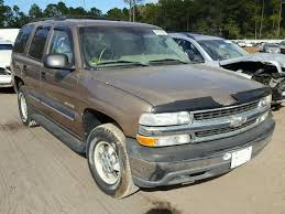 96 Tahoe Interior Salvage Chevrolet Tahoe For Sale At Copart Auto Auction