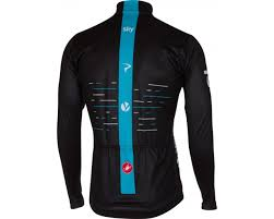castelli team sky thermal cycling jersey 2017 merlin cycles