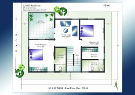 Duplex Layout 30 X 40 Duplex House Plans South Facing Home Act