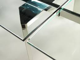 dining table alternatives chrome clear glass extendable dining table by casabianca home