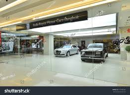 rolls royce dealership bangkok jan 25 rollsroyce show room stock photo 375198709