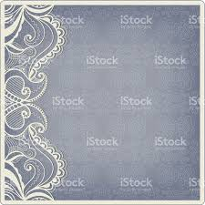 Free Invitation Card Design Abstract Background Lacy Frame Border Pattern Wedding Invitation