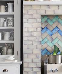 shibori cream topps tiles kitchen splashbacks pinterest