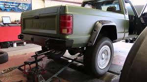 1991 jeep comanche eliminator 4 jeep comanche supercharged stroker dyno pulls tuning youtube