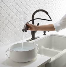 kitchen faucet white sinks faucets modern stylish stainless steel pulldown kitchen