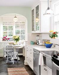 kitchen galley ideas entranching kitchen galley with breakfast nook small es kitchens on