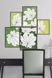 71 best decorative wall decals images on pinterest home the pressed leaf tiles wall decal provides an easy decorating solution all of fathead s oversized nature wall decals are reusable without damaging walls