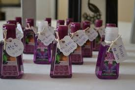 wedding shower thank you gifts sanitizer wedding favors ideas wedding favors ideas for