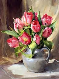 How To Paint A Glass Vase With Acrylic Paint The 25 Best Oil Painting Flowers Ideas On Pinterest Flower