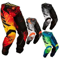 fly racing motocross helmets racing kinetic glitch mens motocross pants