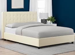 Bed Frame Box Wade Logan Littrell Upholstered Platform Bed U0026 Reviews Wayfair