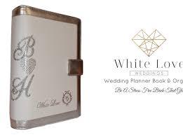 customized wedding planner book