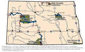 Map North Dakota Discover Native American Culture Official North Dakota Travel