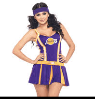 Cheerleader Costume Halloween Women U0027s Nba Jersey Costumes Nba Cheerleader Halloween Costumes