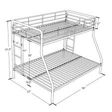 bunk bed measurements twin bunk bed measurements plans 9 dimensions inspiring with image